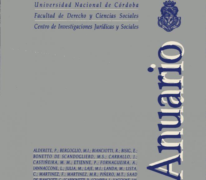 Anuario I