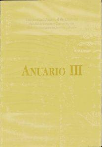 Anuario III