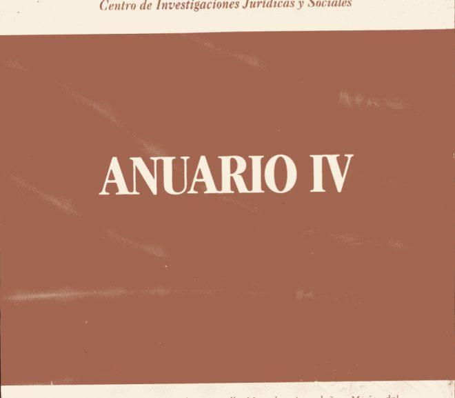 Anuario IV