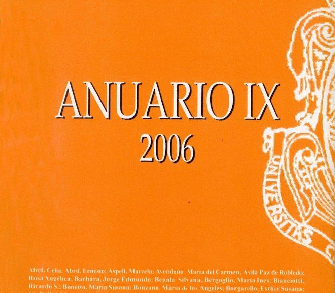 Anuario IX