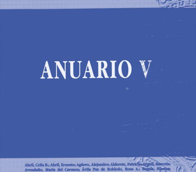 Anuario V