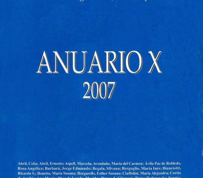 Anuario X