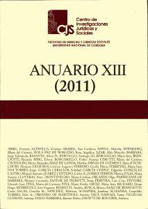 Anuario XIII