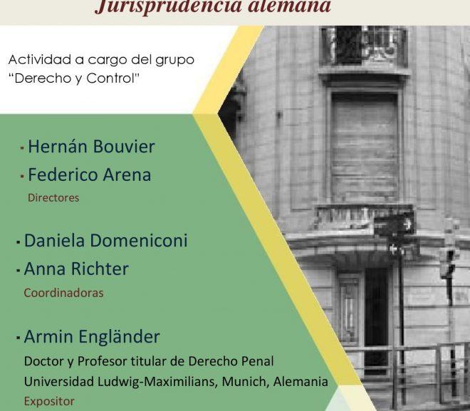 SEMINARIO «El juicio abreviado en el Derecho Penal y la Jurisprudencia alemana»