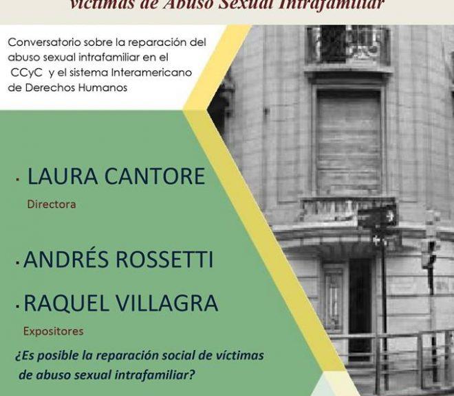 CONVERSATORIO: VIOLENCIA SEXUAL Y PATRIARCADO