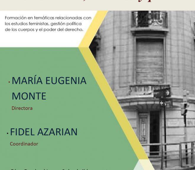 Seminario: Feminismos, Derecho y Poder