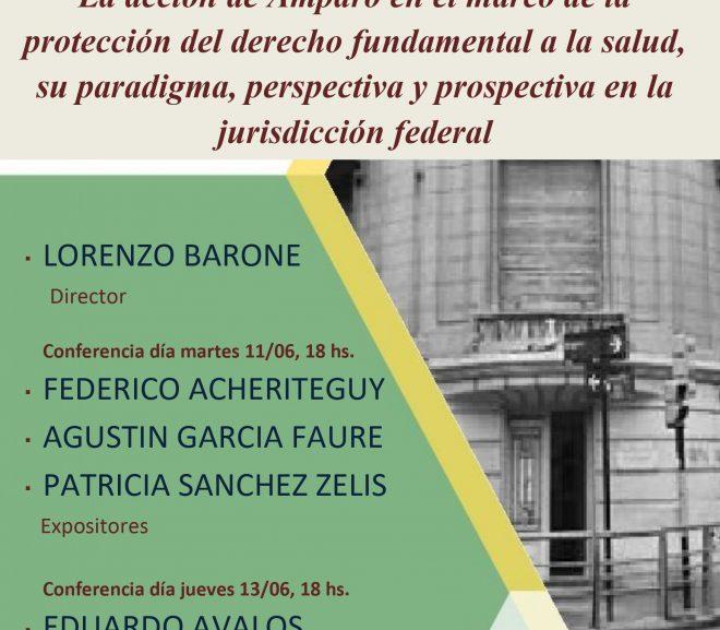 La acción de Amparo en el marco de la protección del derecho fundamental a la salud, su paradigma, perspectiva y prospectiva en la jurisdicción federal