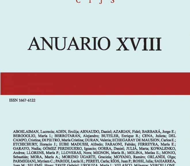 Anuario XVIII